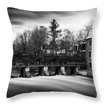 Watson's Mill Throw Pillow