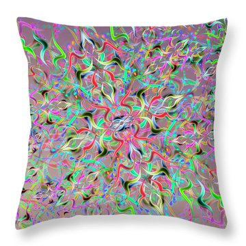 Wave Complex One Throw Pillow
