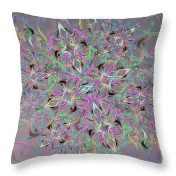 Wave Complex Throw Pillow