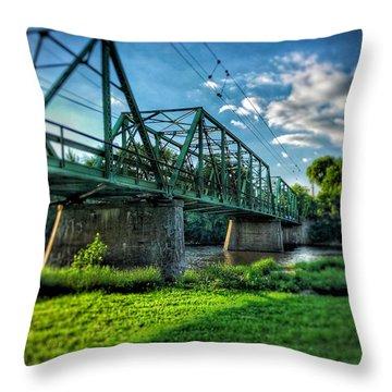Waverly Bridge Throw Pillow