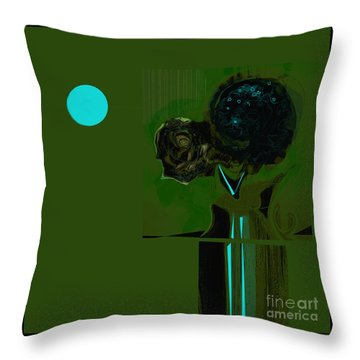 We All Drink Water Throw Pillow