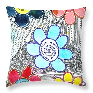 We Are All The Same, But Different Throw Pillow