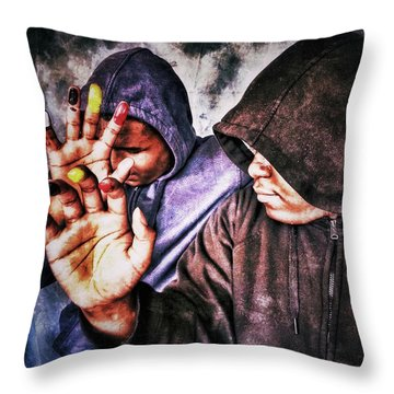 We Are One IIi Throw Pillow