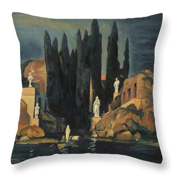 We Are Waiting For You Throw Pillow