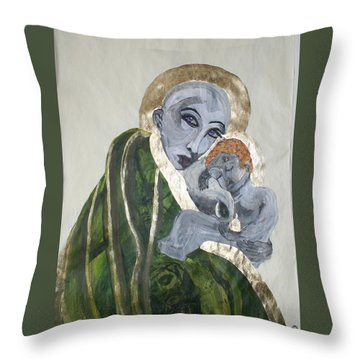 We Carry Our Inheritance Throw Pillow