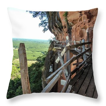 We Take Our Guests Here If They Are Brave Enough Throw Pillow