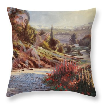 We Will Walk In His Paths 2 Throw Pillow