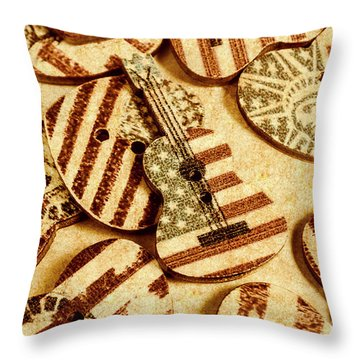 Weathered In The West Throw Pillow