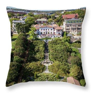 Throw Pillow featuring the photograph Wedding Crasher by Randy Scherkenbach