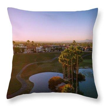 West Coast Vibe Throw Pillow