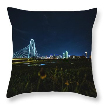 West Dallas Flower Throw Pillow
