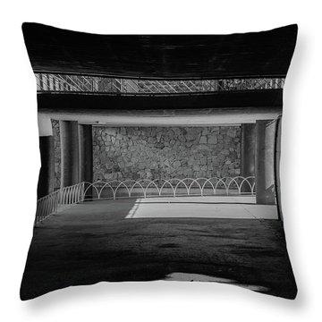 West Park Underpass Throw Pillow