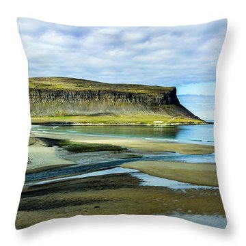 Westfjords, Iceland Throw Pillow