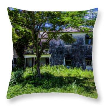 Westmoreland Plantation Throw Pillow