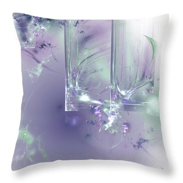 What I Love Throw Pillow