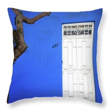 When A Tree Comes Knocking Throw Pillow