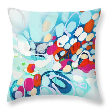 When Can I Come Over? Throw Pillow