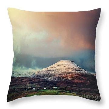 When The Sun Begins To Shine Throw Pillow