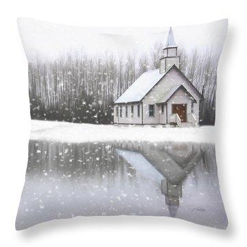 Where Hope Grows - Hope Valley Art Throw Pillow