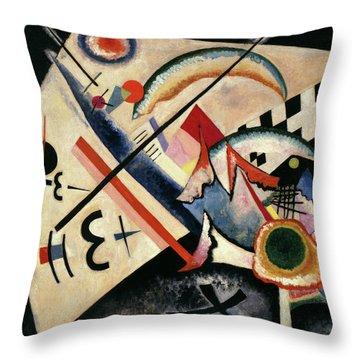 White Cross - Weisses Kreuz, 1922 Throw Pillow