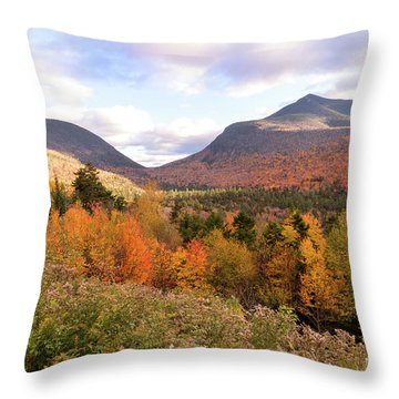 White Mtns Waterville Valley 2 Throw Pillow