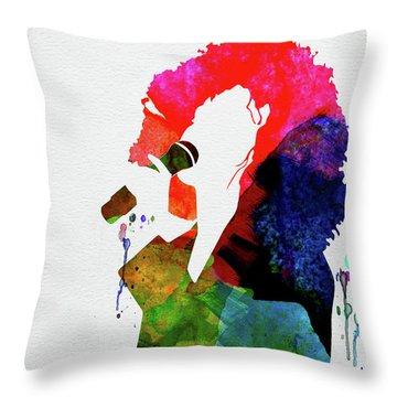 Whitney Watercolor Throw Pillow