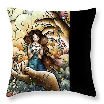 Who You Say I Am Throw Pillow