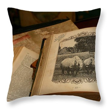 Wild Wonders Throw Pillow