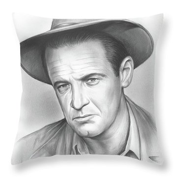 William Holden Throw Pillow