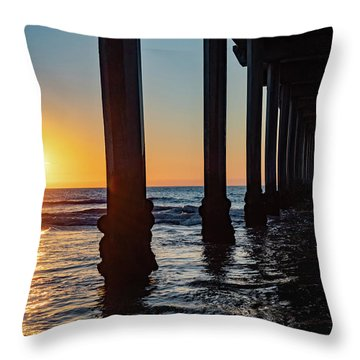 Window Under Scripps Throw Pillow