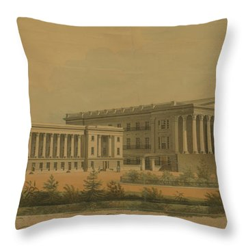 Winning Competition Entry For Girard College Throw Pillow