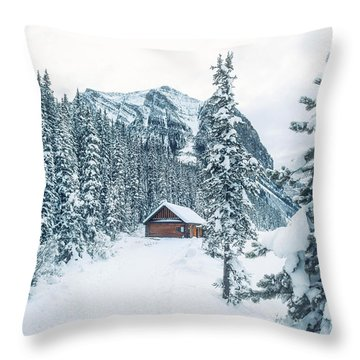 Winter Comes When You Dream Of Snow Throw Pillow