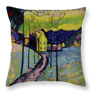 Winter Landscape, 1909 Throw Pillow