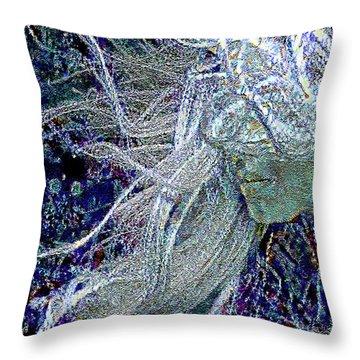 Winter Mood Throw Pillow