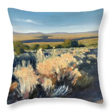 Winter Palette Throw Pillow