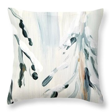Winter Trees #3 Throw Pillow