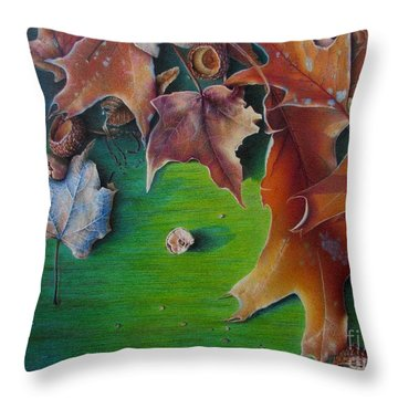 Winter's Prerequisite Throw Pillow