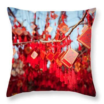 East Asia Throw Pillows