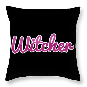 Witcher #witcher Throw Pillow
