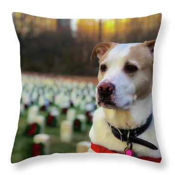 With Respect  Throw Pillow