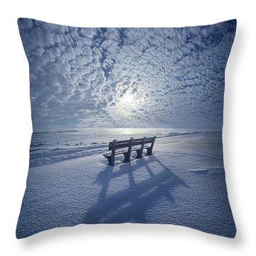 Within The Absence Are The Memories Throw Pillow