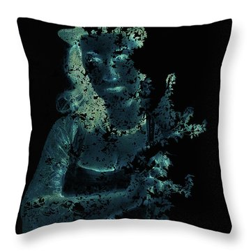 Within The Leaves Throw Pillow