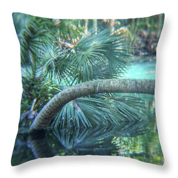 Witnessing Nature Throw Pillow