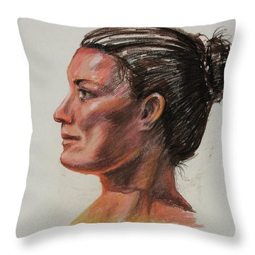 Anatomical Model Throw Pillows