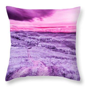 Infrared Throw Pillows