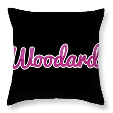 Woodard #woodard Throw Pillow