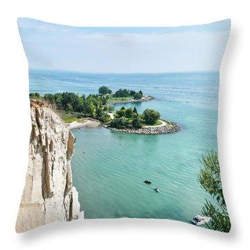 Woodbine Beach Throw Pillow
