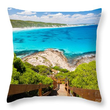 Coastline Throw Pillows