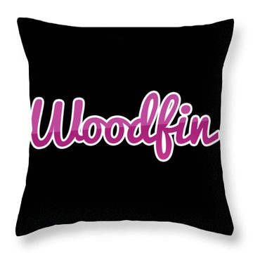 Woodfin #woodfin Throw Pillow