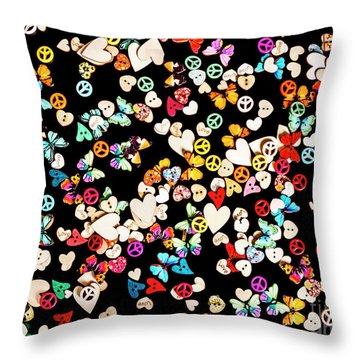 Woodstock Decorated Throw Pillow